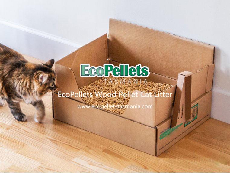 Australian wood pellet cat litter